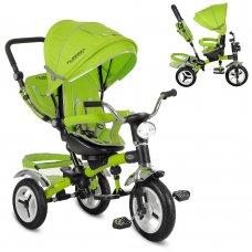 Трехколесный велосипед с поворотным сиденьем, M 3199-4HA зеленый