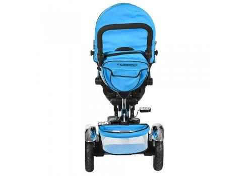 Трехколесный велосипед с поворотным сиденьем, M 3199-5HA синий