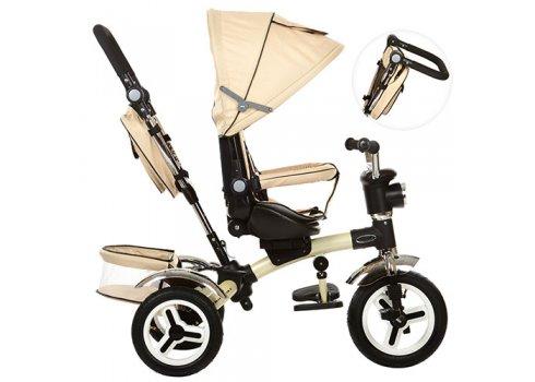 Трехколесный велосипед с поворотным сиденьем, M 3199-7HA бежевый