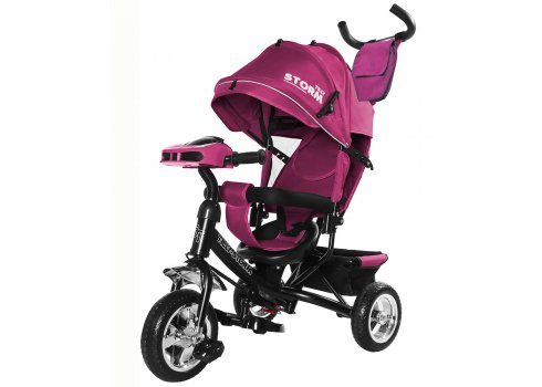 Велосипед трехколесный TILLY STORM T-349/2 Фиолетовый
