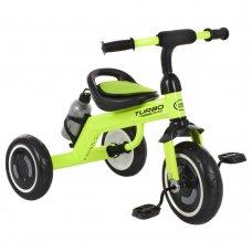 Трехколесный велосипед со светящимися EVA колесами Turbotrike M 3648-5 салатовый