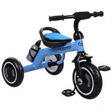 Трехколесный велосипед со светящимися EVA колесами Turbotrike M 3648-4 голубой