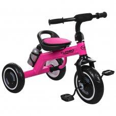 Трехколесный велосипед со светящимися EVA колесами Turbotrike M 3648-6 малиновый