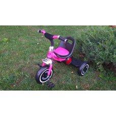 Велосипед трехколесный музыкальный с подсветкой Turbotrike M 3650-M-2 розовый