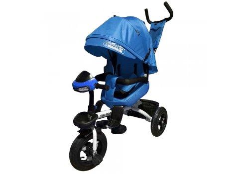 Велосипед трехколесный с поворотным сиденьем, Tilly Magnum T-382 Синий