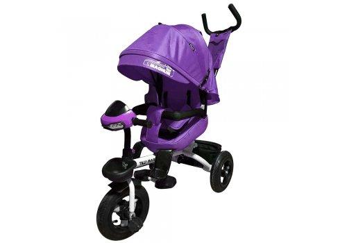 Велосипед трехколесный с поворотным сиденьем, Tilly Magnum T-382 Фиолетовый