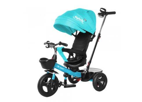 Велосипед трехколесный с поворотным сиденьем TILLY Melody T-385 Бирюза