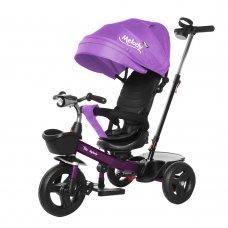 Велосипед трехколесный с поворотным сиденьем TILLY Melody T-385 Фиолетовый