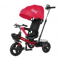 Велосипед трехколесный с поворотным сиденьем TILLY Melody T-385 Красный