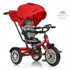 Трехколесный велосипед с поворотным сиденьем, Turbotrike M 4057-1 красный
