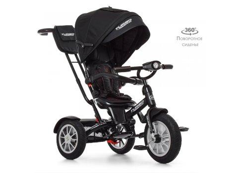 Трехколесный велосипед с поворотным сиденьем, Turbotrike M 4057-20 черный