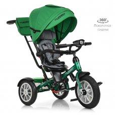 Трехколесный велосипед с поворотным сиденьем, Turbotrike M 4057-4 зеленый