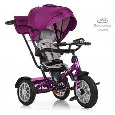 Трехколесный велосипед с поворотным сиденьем, Turbotrike M 4057-8 фуксия