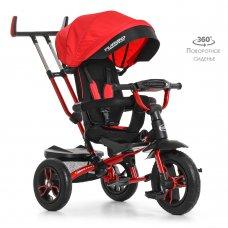 Трехколесный велосипед с поворотным сиденьем Turbotrike M 4058-1 красный