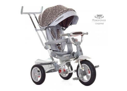 Трехколесный велосипед с поворотным сиденьем Turbotrike M 4058HA-23S звезды