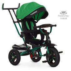 Трехколесный велосипед с поворотным сиденьем Turbotrike M 4058HA-4 зеленый