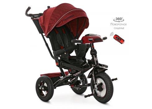 Трехколесный велосипед с фарой TURBOTRIKE M 4060HA-1L красный