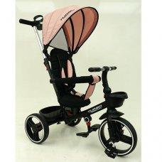Детский трехколесный велосипед TURBOTRIKE М 5447PU-15 нежно-розовый