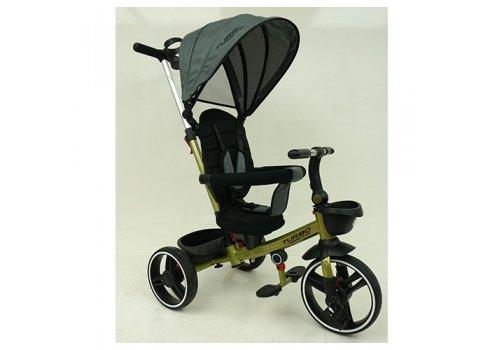 Детский трехколесный велосипед TURBOTRIKE М 5447PU-17 хаки