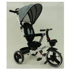 Детский трехколесный велосипед TURBOTRIKE М 5447PU-19 серый