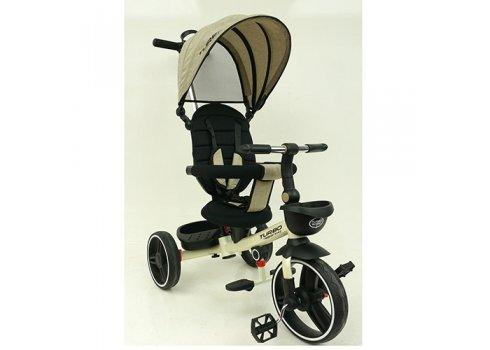 Детский трехколесный велосипед TURBOTRIKE М 5447PU-7 бежевый